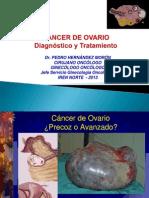 CA Ovario Dx y TX Dr. Hernández Ene 2013