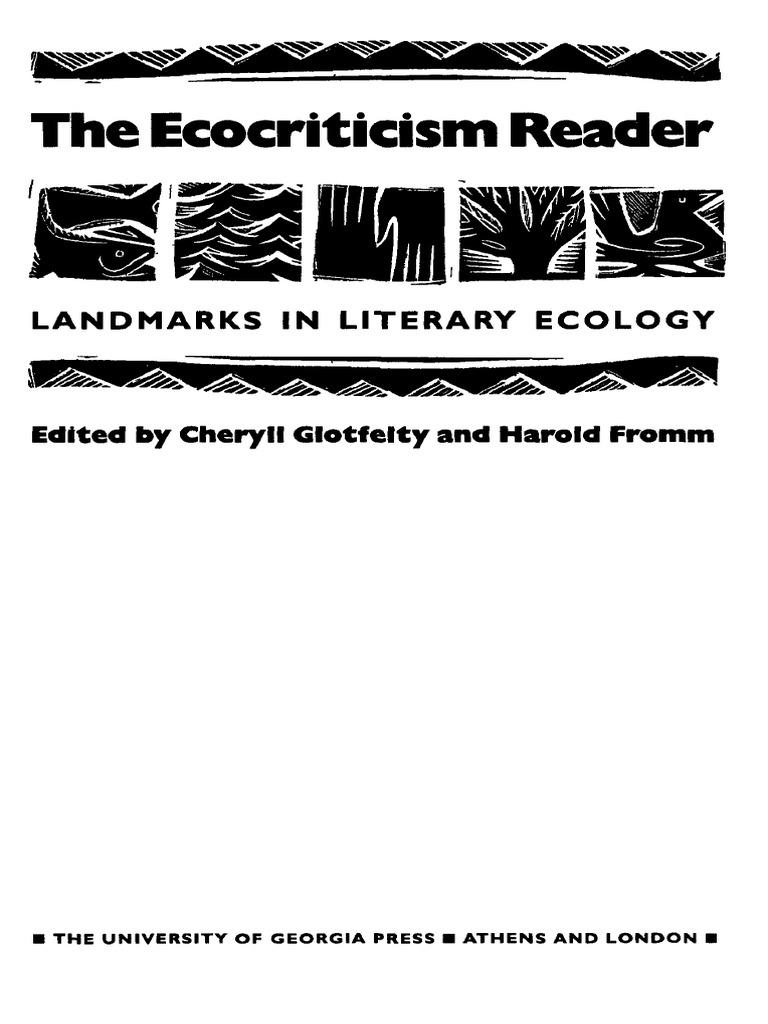 William rueckert literature and ecology. William Rueckert