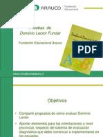 Lectura-FUNDAR Dominio Lector