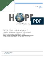 Com 315-Group TASK-Hope