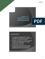 Conceptos de Programación
