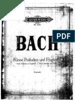 Bach Pequeños Preludios y Fugas