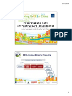 City Infrastructure Investment Programming and Prioritization (CIIPP) Toolkit