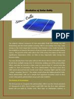 The Evolution of Solar Cells