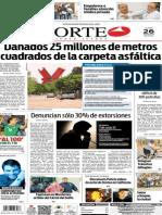 Periódico Norte edición impresa del día 26 de mayo del 2014