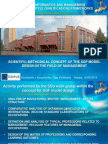 SCIENTIFIC-METHODICAL CONCEPT OF THE SQF MODEL DESIGN IN THE FIELD OF MANAGEMENT
