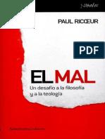 Ricoeur Paul - El Mal