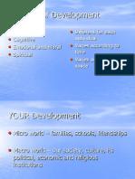Development Theories for Piaget