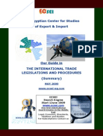 Guide in THE INTERNATIONAL TRADE LEGISLATION'S AND Procedure-side