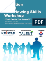 Selection Based Interviewing Skills Workshop