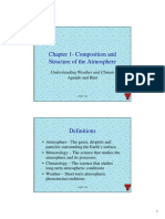 Chapter 1. Composition of the Atmosphere