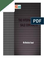 Preparing an International Sale Contract