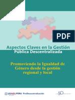05 Promoviendo La Igualdad de Genero Desde La Gestion Regional y Local[1]
