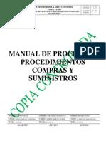 Manual Procedimientos Compras y Suministros