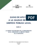 11 La Gestion Por Procesos en La Administracion Local