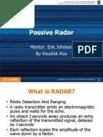 Passive Radar