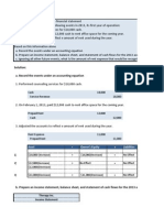 Final Bank Reconciliation Statment