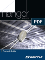 GRIPPLE _uk Product Guide 2009, hangers system