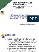 Isoinmunizacion Durante El Embarazo