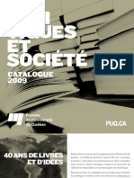 Quebec University Press Political Science Books
