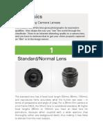 Lens Basics