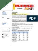 Epf Employer & Employee Contribution