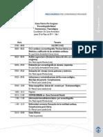 CONGRESO 2014 PERÚ - Programa Oficial