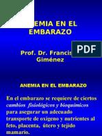 Anemia y Embarazo II