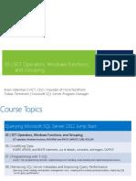 Module_5 SET Operators Grouping and Windows Functionsod1