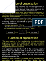 Functions of Org