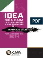 Guia Para Elaboracion y Presentación de Trabajos Escritos 2014