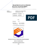 laporan satuan proses pembuatan asam klorida