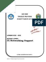 Kisi-kisi LKS SUMUT-IT Network Support. 2013docx
