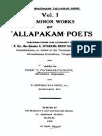 Annamayya - Minor Works of Tallapaka Poets