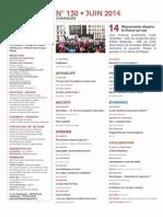 Sommaire de Politique magazine n°130