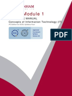 Module 1 - Basic Concepts of Information Technology [ IT ]