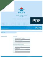 Pre Qualification Document Wisdom Advertising