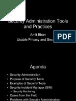 Security Admin security