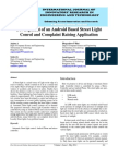 IJIRET Anjana a Development of an Android Based Street Light Control and Complaint Raising Application