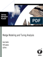 Tuning Analysis and Wedge Modelling