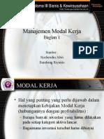 Manajemen Modal Kerja 1