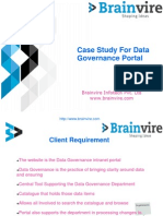 Case Study For Data Governance Portal