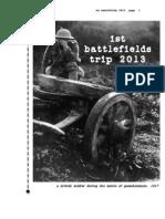 World War One Battlefields Trip - 2 Days