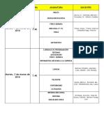 2010- Mesas de Examen - Marzo - Pendientes