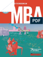 MBA Guide on Selecting a School