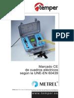 Certificador CE Cuadros Electricos