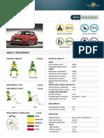 Audi a1 Euroncap