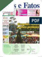 Jornal Atos e Fatos - Ed 649 - 14-11-2009