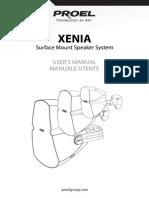 PROEL Xenia Loudspeaker - Manual
