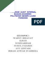 Contoh Dokumen Prosedur Audit Internal New